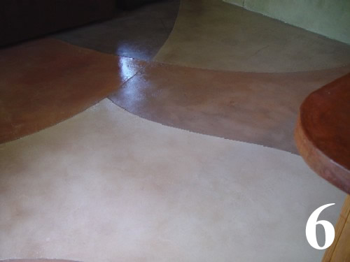 Concrete Polished Floor: Polished Concrete Over Wood Subfloor